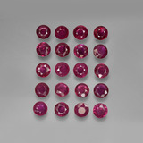 thumb image of 4.9ct Round Facet Pink Red Ruby (ID: 415545)