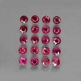 thumb image of 4.6ct Round Facet Pink Red Ruby (ID: 415546)