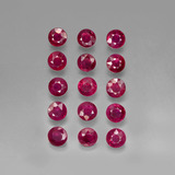 thumb image of 4ct Round Facet Pink Red Ruby (ID: 415548)