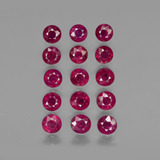 thumb image of 4.4ct Round Facet Pink Red Ruby (ID: 415549)