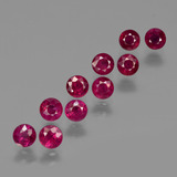 thumb image of 3.3ct Round Facet Pink Red Ruby (ID: 415550)