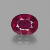thumb image of 3.7ct Oval Facet Pink Red Ruby (ID: 441007)
