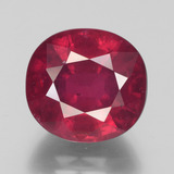 thumb image of 9.6ct Oval Facet Pink Red Ruby (ID: 441255)