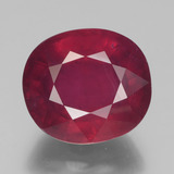 thumb image of 10.4ct Oval Facet Pink Red Ruby (ID: 441257)