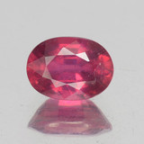 thumb image of 1.2ct Oval Facet Pink Red Ruby (ID: 462745)