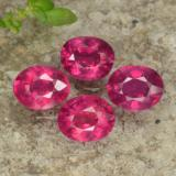 thumb image of 2.1ct Oval Facet Pink Red Ruby (ID: 464526)