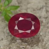 thumb image of 3.4ct Oval Facet Red Ruby (ID: 464781)