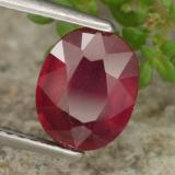2.51 ct Oval Facet Red Ruby Gem 8.80 mm x 7 mm (Photo B)