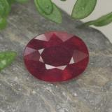 thumb image of 1.8ct Oval Facet Red Ruby (ID: 465475)