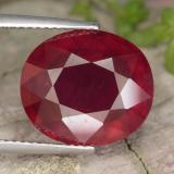 thumb image of 10.7ct Oval Facet Red Ruby (ID: 465579)