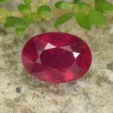 thumb image of 1.3ct Oval Facet Red Ruby (ID: 466311)