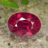 thumb image of 1.3ct Oval Facet Red Ruby (ID: 466345)