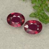 thumb image of 3ct Oval Facet Pink Red Ruby (ID: 481719)
