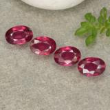thumb image of 2.5ct Oval Facet Pink Red Ruby (ID: 481752)