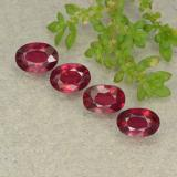 thumb image of 2.9ct Oval Facet Pink Red Ruby (ID: 481936)