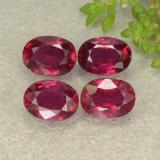 thumb image of 4.5ct Oval Facet Pink Red Ruby (ID: 481942)