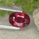 thumb image of 0.8ct Oval Facet Pink Red Ruby (ID: 481972)