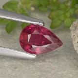 thumb image of 0.6ct Pear Facet Pink Red Ruby (ID: 481973)