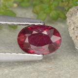 thumb image of 0.9ct Oval Facet Pink Red Ruby (ID: 481980)