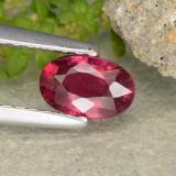 thumb image of 0.6ct Oval Facet Pink Red Ruby (ID: 481988)