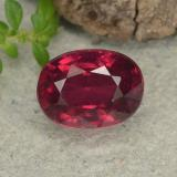 thumb image of 2.2ct Oval Facet Pink Red Ruby (ID: 482892)