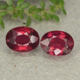 thumb image of 3.4ct Oval Facet Pink Red Ruby (ID: 482902)