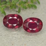 thumb image of 3.8ct Oval Facet Pink Red Ruby (ID: 482904)