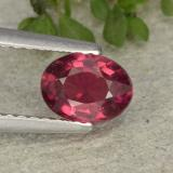 thumb image of 0.9ct Oval Facet Pink Red Ruby (ID: 483118)
