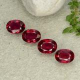 thumb image of 4.7ct Oval Facet Pink Red Ruby (ID: 483128)