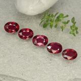 thumb image of 5.3ct Oval Facet Pink Red Ruby (ID: 483131)