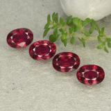 thumb image of 5.4ct Oval Facet Pink Red Ruby (ID: 483132)