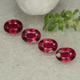 thumb image of 1.3ct Oval Facet Pink Red Ruby (ID: 483133)
