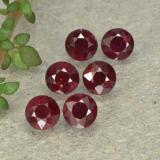 thumb image of 0.3ct 圆形切面 Medium Red 红宝石 (ID: 496232)
