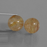 thumb image of 12.4ct Drilled Sphere Colorless Golden Rutile Quartz (ID: 434976)