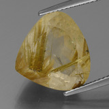 10.65 ct 梨形切面 Dijon Yellow 金发晶 Gem 13.88 mm x 14.7 mm (Photo B)