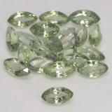 thumb image of 3.5ct Marquise Facet Green Sapphire (ID: 244273)
