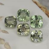 thumb image of 2.7ct Cushion-Cut Green Sapphire (ID: 258823)