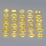 thumb image of 3.7ct Marquise Facet Yellow Golden Sapphire (ID: 263009)