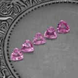thumb image of 1.2ct Trillion Facet Pink Sapphire (ID: 276015)