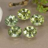 thumb image of 2.8ct Oval Facet Multi Green Sapphire (ID: 315721)