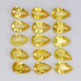 thumb image of 3.3ct Pear Facet Yellow Golden Sapphire (ID: 325171)