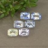 thumb image of 1.4ct Octagon / Scissor Cut Multicolor Sapphire (ID: 331000)