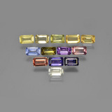 thumb image of 4.1ct Octagon Step Cut Multicolor Sapphire (ID: 349973)