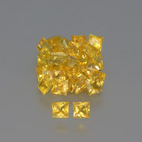 thumb image of 3.5ct Princess-Cut Yellow Golden Sapphire (ID: 354100)