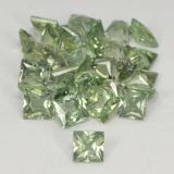 thumb image of 4ct Princess-Cut Green Sapphire (ID: 362205)