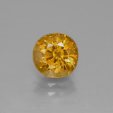 thumb image of 2.3ct Oval Facet Yellow Golden Sapphire (ID: 369951)