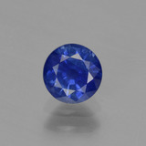 thumb image of 0.7ct Round Facet Blue Sapphire (ID: 374648)