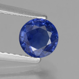 thumb image of 0.8ct Round Facet Blue Sapphire (ID: 378972)