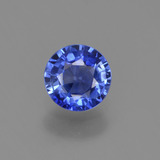 thumb image of 0.5ct Round Facet Blue Sapphire (ID: 380318)