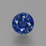 thumb image of 0.6ct Round Facet Blue Sapphire (ID: 382138)